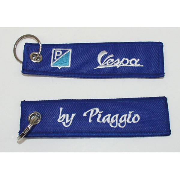 Schlüsselanhänger Vespa-für Piaggio blau