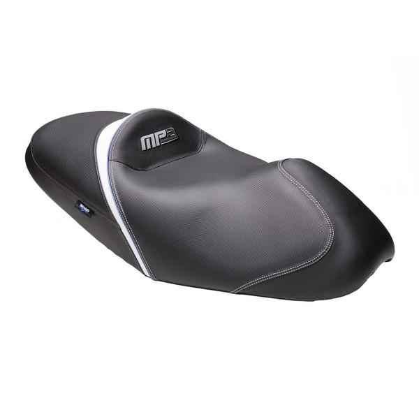 Sitzbank SHAD SHV0M2320 Schwarz mit grau/blauer Naht