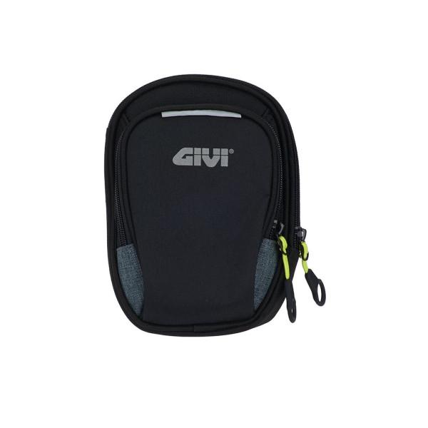 Easy-BAG - Beintasche schwarz mit zwei Fächer aus Polyester