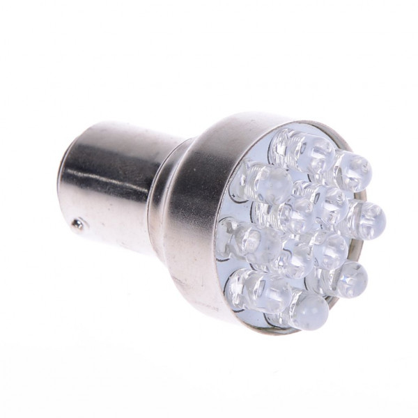 Lampe 12V 21/5W BAY15d rot LED
