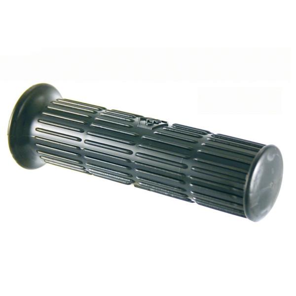 Griffe für Vespa schwarz 24/24 120 mm Replica mit Emblem