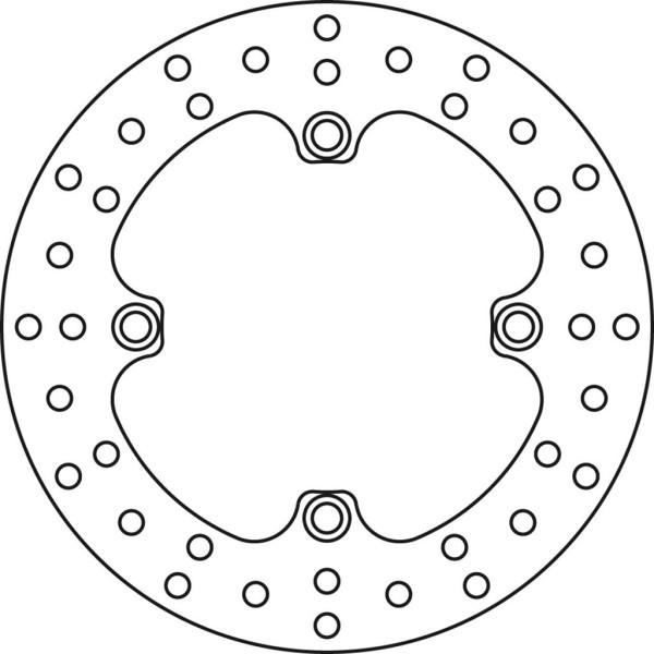 Bremsscheibe TRW MST353