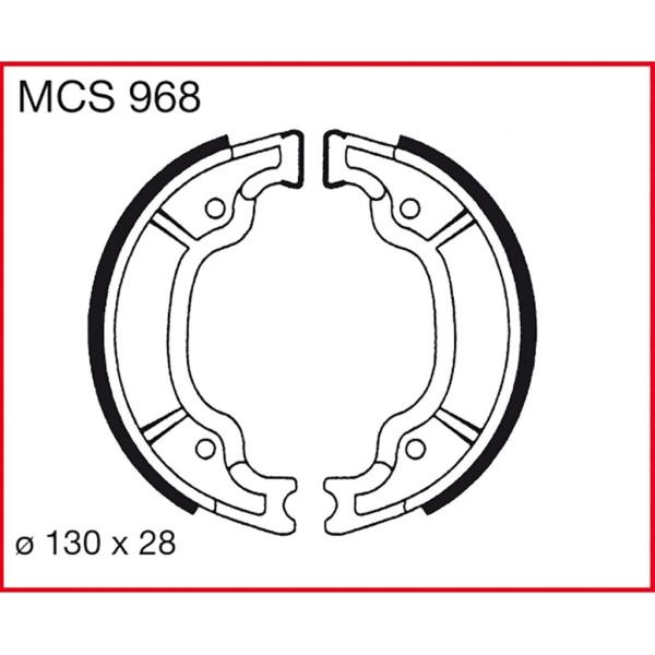 Bremsbacken TRW MCS968