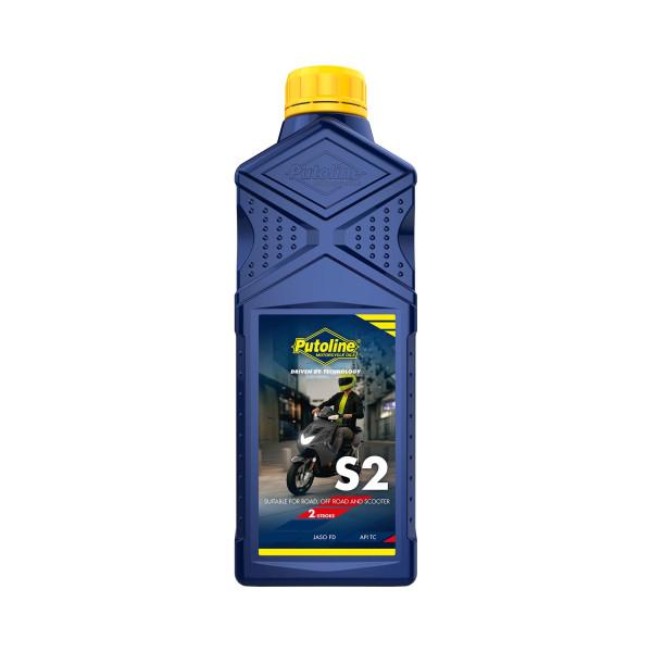 Öl 2Takt Putoline 1 Liter Motoröl S2 teilsynthetisch