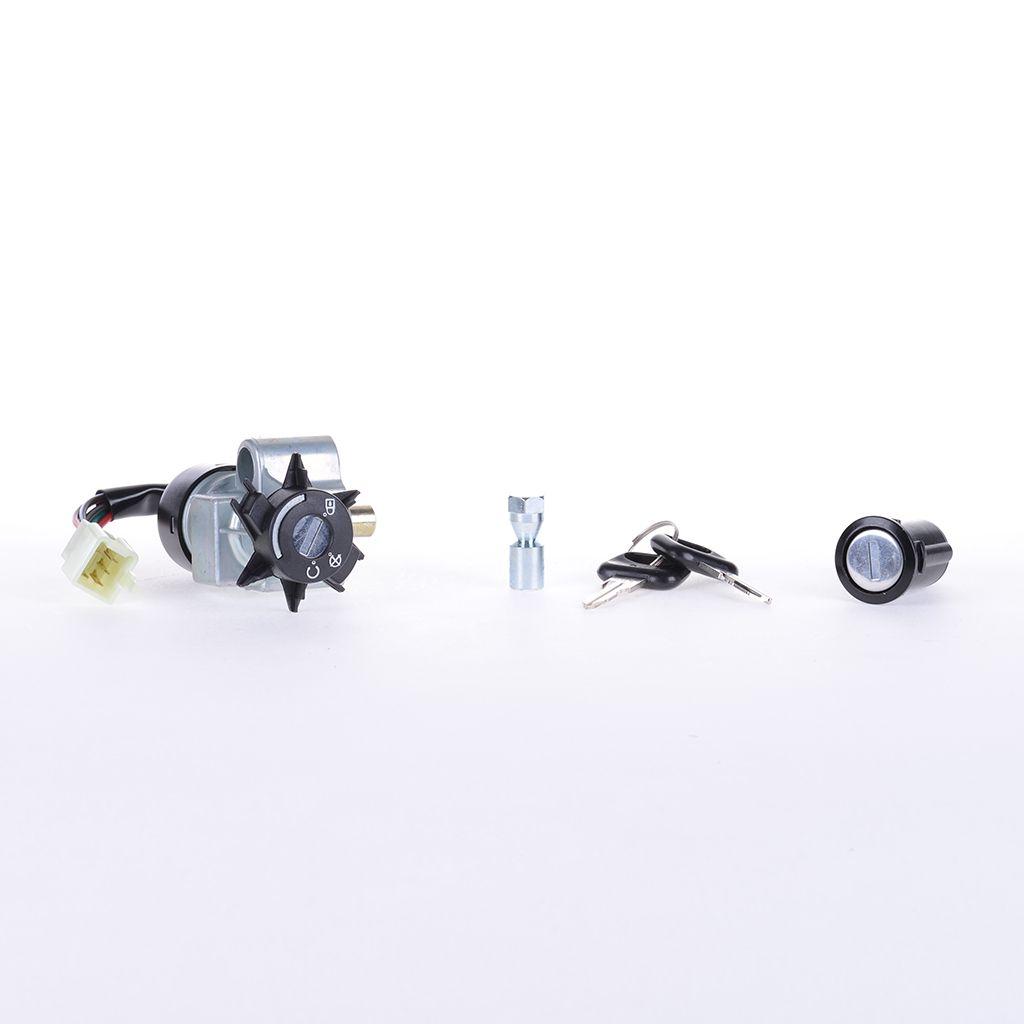 Serrure-contacteur-d-039-allumage-pour-Peugeot-Elystar-50-G1A-Vergaser-03-12 miniature 2